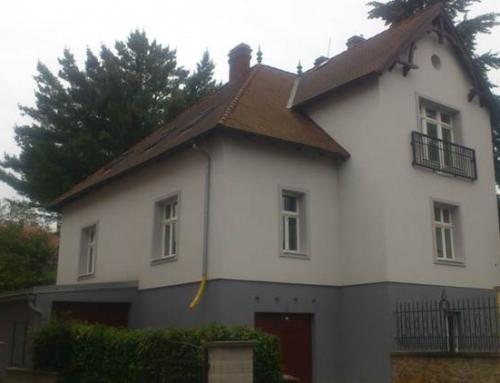 Fasáda vilového domu